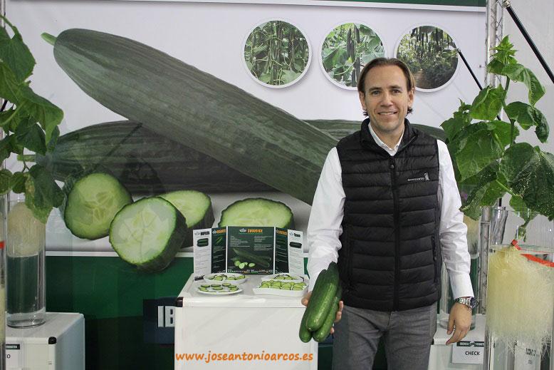 Antonio Reina, breeder de pepino de Seminis.