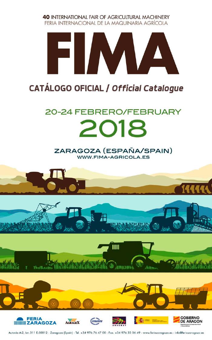 Del 20 al 24 de febrero. FIMA, Feria Internacional de Maquinaria Agrícola. Zaragoza