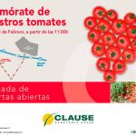 Días 14 y 15 de febrero. Jornadas de tomate de Clause