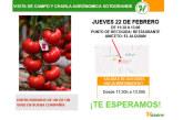 Día 22 de febrero. Jornada de campo de tomate de Hazera