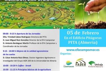Día 5 de febrero. Jornadas sobre 'Principios de biodinámica'