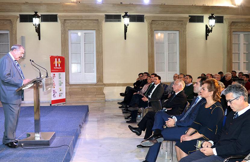Presentación de la campaña Cultivos de Invernadero de Hortiespaña en la Diputación de Almería.