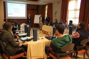 Presentación de EuroChem Agro en La Envía Golf, Almería.