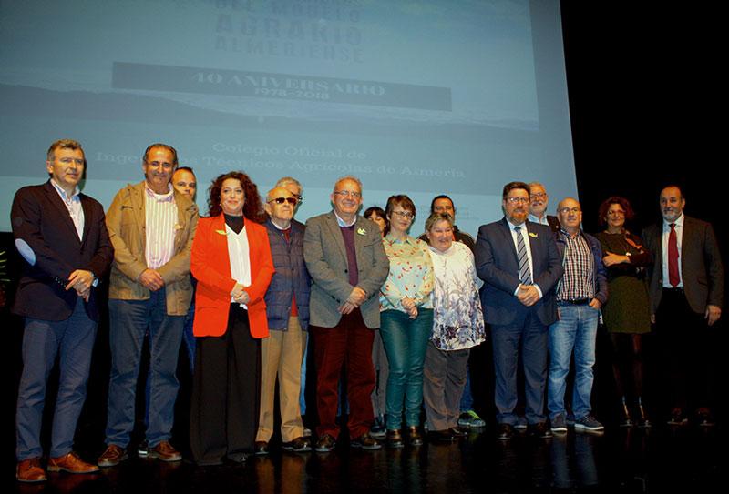 El Colegio de Ingenieros Agrícolas de Almería celebra 40 años