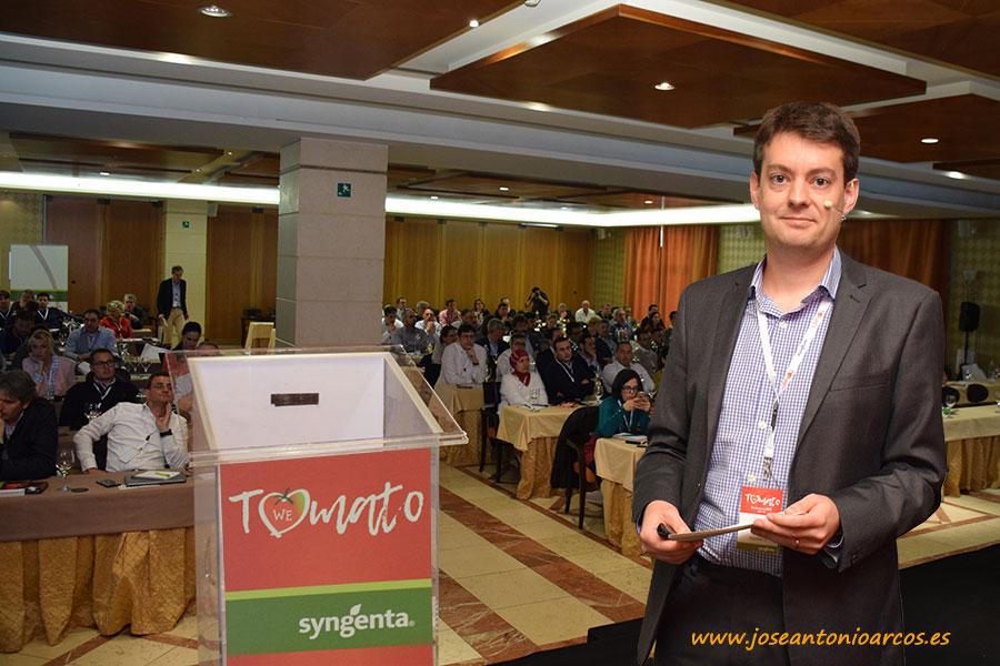 Daniel Rickett, Traits & Technology, Vegetable Seeds Syngenta.