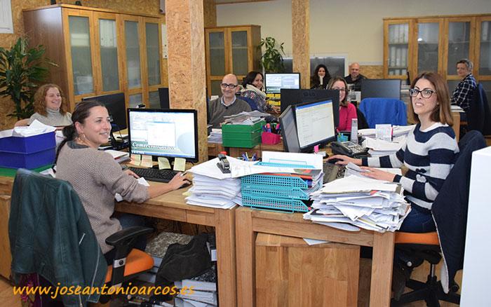 Departamento de administración de Campojoyma.