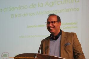 Dr. Khalid, director de I+D+i de Trichodex