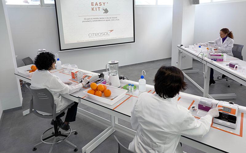 Los laboratorios portátiles de Citrosol