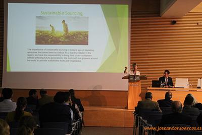Agricultura sostenible. Evento en Aguadulce, Almería.