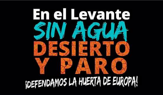 Día 7 de marzo. Manifestación ¡Defendamos la huerta de Europa! Madrid