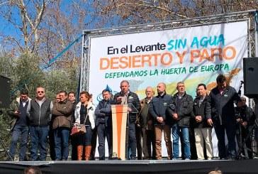 50.000 voces de Murcia, Almería y Alicante claman agua para el Levante