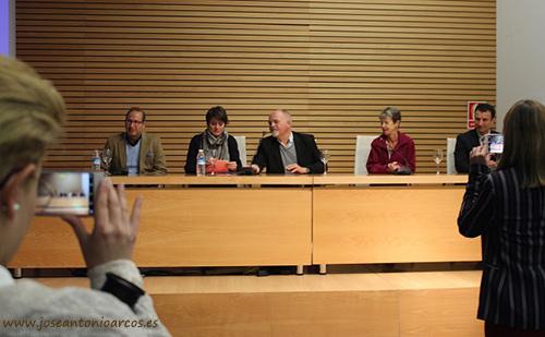 Debate sobre agricultura sostenible. GlobalG.A.P. y Trichodex en Almería.