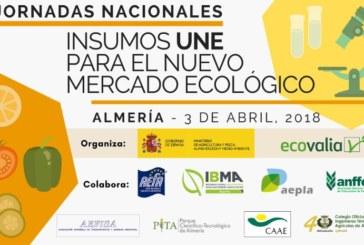 Día 3 de abril. Jornadas Nacionales de Insumos UNE para el Nuevo Mercado Ecológico
