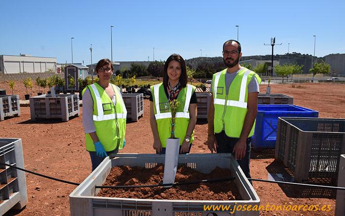 Ensayos de COMPO Expert en su fábrica de fertilizantes de Castellón.
