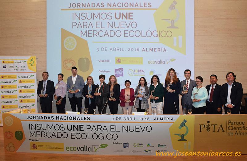 Insumos UNE. Jornada de Agricultura Ecológica organizada por el Ministerio y Ecovalia en el PITA de Almería.