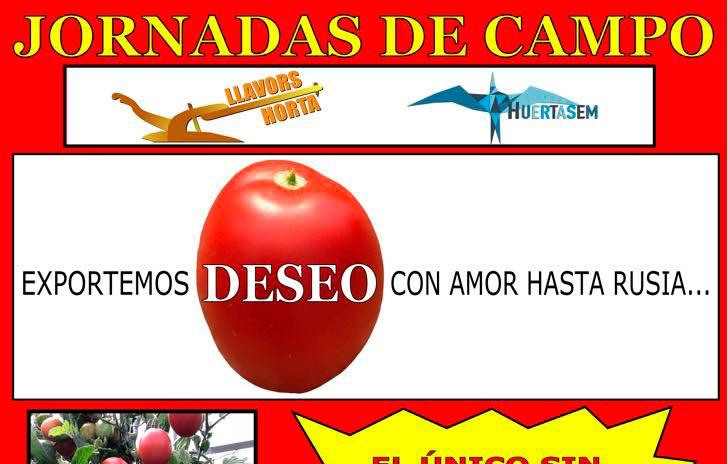 Días 11, 12 y 13 de abril. Jornada de tomate de LLavors Horta/Huertasem