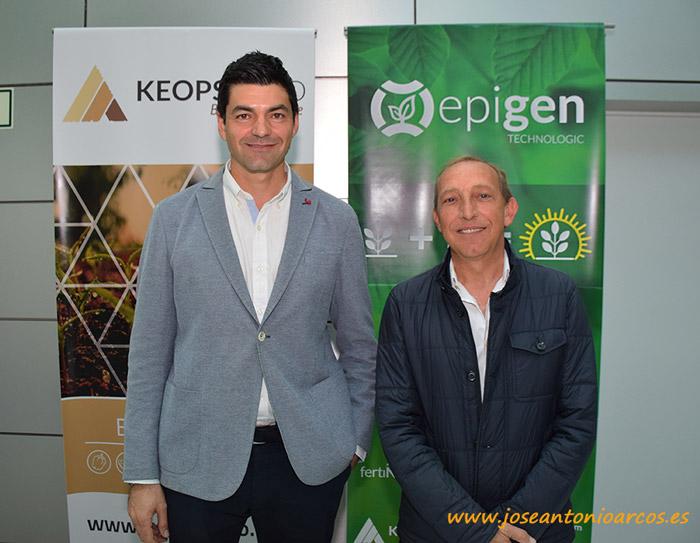 Keops Agro en las jornadasa de agricultura ecológica.