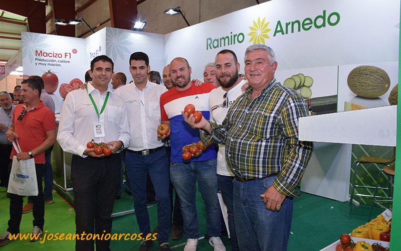 Ramiro Arnedo renueva su catálogo de tomate