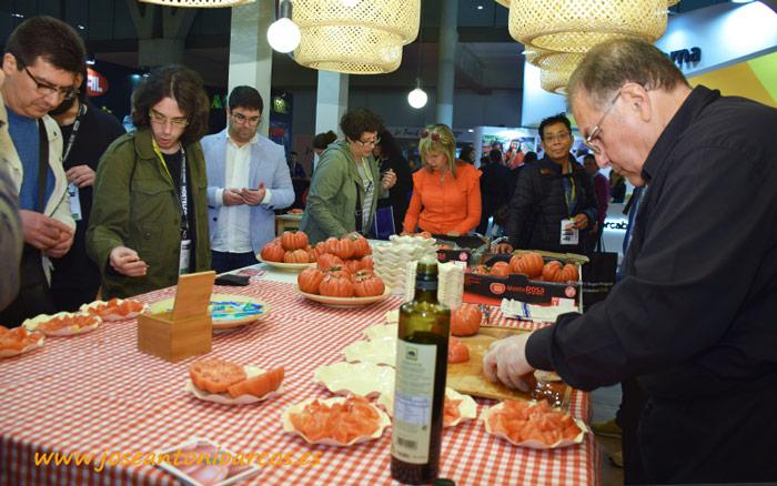 Tomate Monterosa en Alimentaria 2018.