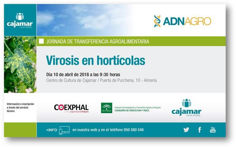 Día 10 de abril. Jornada de virosis en hortícolas