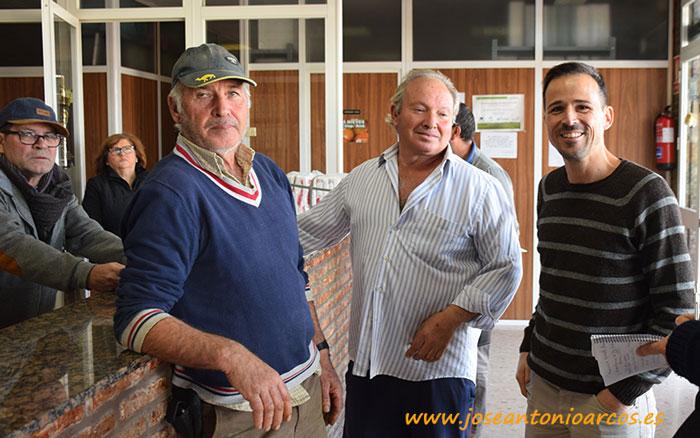 Los hermanos José Antonio y Luis González. Productores de tomate.