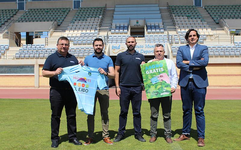 Cristalplant y el Club Deportivo El Ejido lanzan la campaña 'El Campo Nos Une'