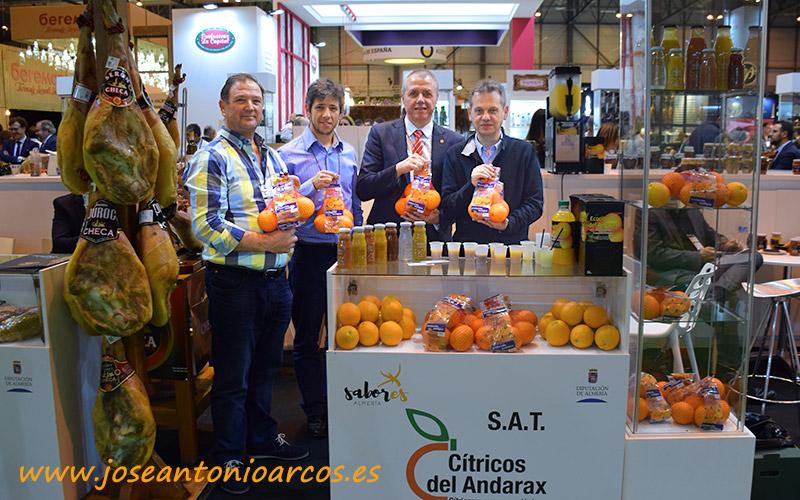 SAT Cítricos del Andarax en el Salón de Gourmets 2018.