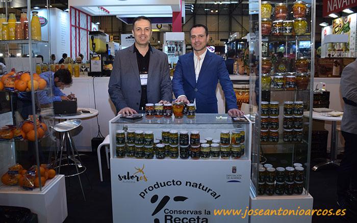 Manolo y Paco Herrera. Conservas La Receta.