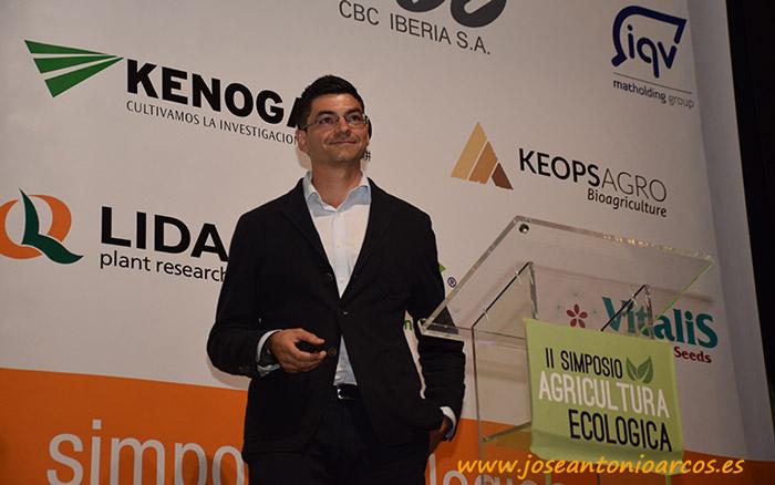 Francisco Javier del Águila, gerente de Keops Agro.