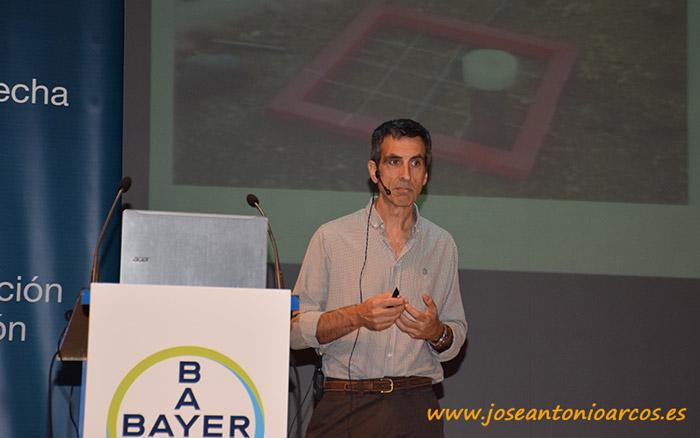 El responsable de desarrollo de insecticidas de Bayer CropScience Iberia, Josep Izquierdo.