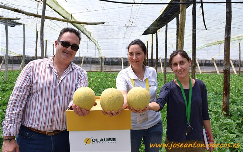 Eloy Sánchez, V-Savia; Beatriz Palmero, desarrollo Clause; y Mª José Díaz, V-Savia.