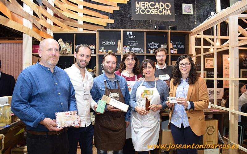 Productores locales del Mercado de la Cosecha. Salón de Gourmets 2018.
