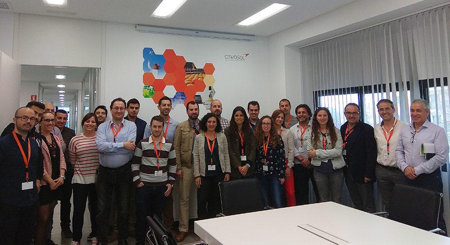 Citrosol asoma a los alumnos de la Politécnica de Valencia a la 'poscosecha de precisión'