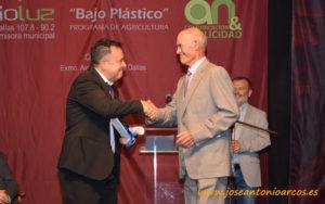 Premio de Radio Luz a la feria Expo Levante Níjar.