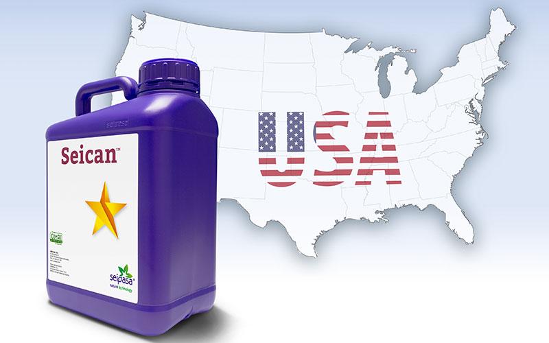 Seipasa obtiene el registro fitosanitario del biopesticida Seican en EEUU