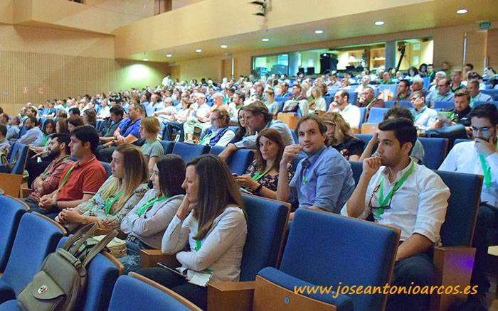 II Simposio de Agricultura Ecológica celebrado en el Teatro Auditorio de El Ejido, Almería.