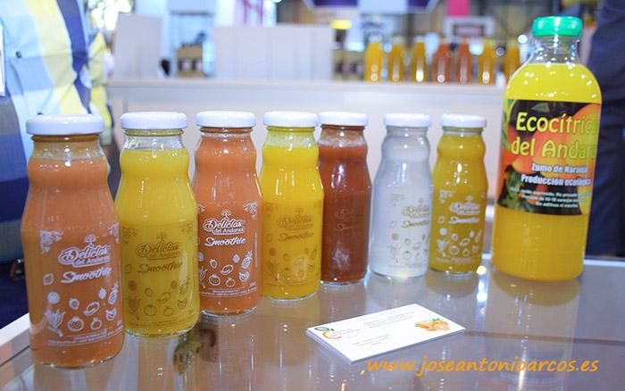 Cítricos del Andarax innova con smoothies de frutas.