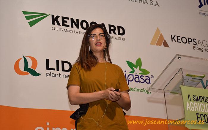 Gema Pérez, responsable de I+D de Vellsam.