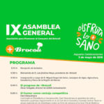 Día 3 de mayo. IX Asamblea General de la Asociación para Promover el Consumo de Brócoli