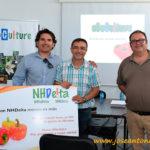 Agricultores de ParqueNat conocen la fertilización Delta