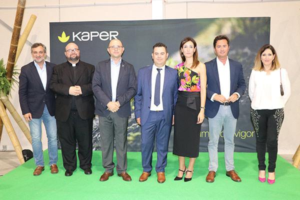 Inauguración instalaciones de Kaper en El Ejido, Almería. Turba y sustratos agrícolas.