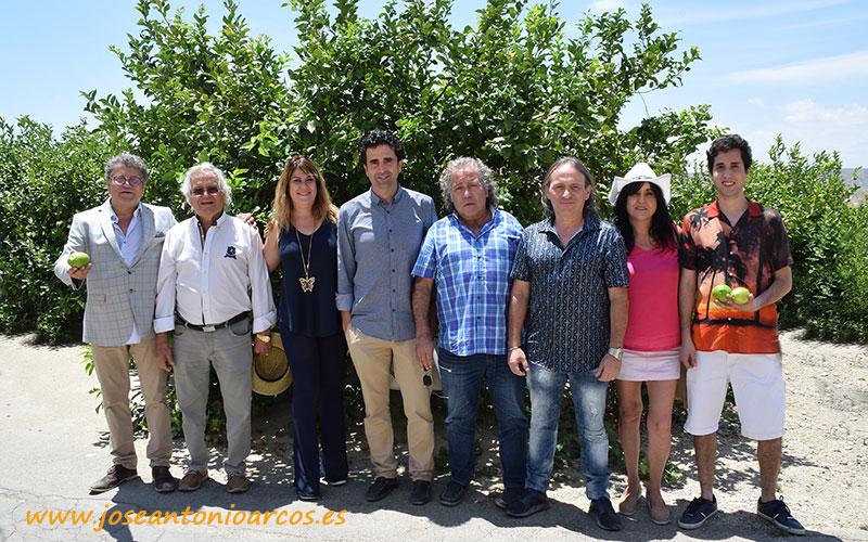 Familia Torralba. Foto grupal.