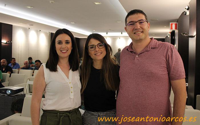 Miembros del equipo de Enza Zaden: Nuria García, Patrocinio Fort y Bernardo Cuenca.