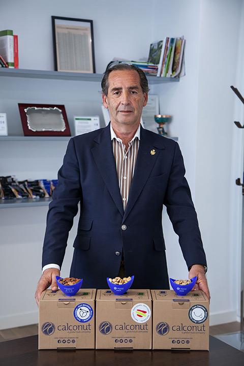Juan Luis Peregrín, gerente de Calconut.