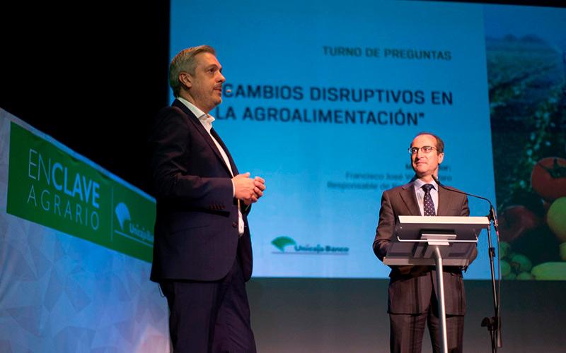 Cambios disruptivos en la agroalimentación, según David del Pino