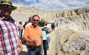 Canteras de yeso en Sorbas de Sulfato Cálcico del Mediterráneo, Grupo Torralba.