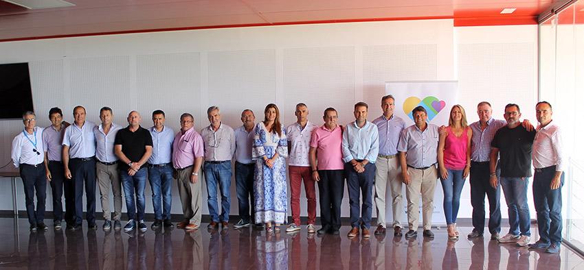 Las empresas de Coexphal apoyan la candidatura Almería 2019