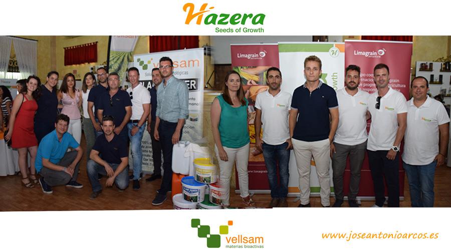Jornada con agricultores de Hazera y Vellsam.