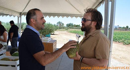Miguel A. Bolaños, gestor de la categoría de frutas y hortalizas de la cooperativa Consum.
