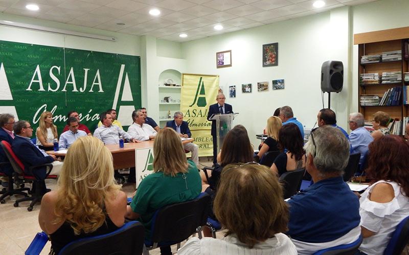 Asamblea Asaja-Almería. Pascual Soler, nuevo presidente.